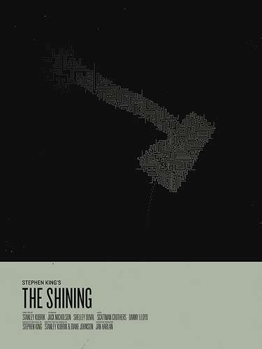 Minimalistic Horror Posters
