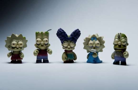 Simpsons by Kidrobot