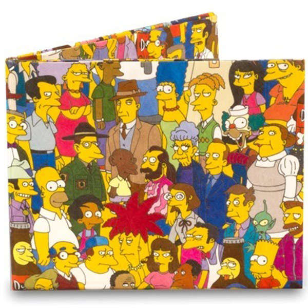 Simpsons Mighty Wallet