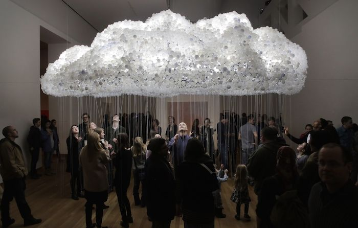 Simulated Cloud Sculptures Simulated Cloud