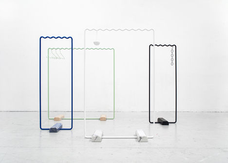 Minimalist Clothing Storage Concepts