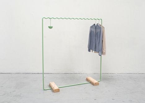 Math-Inspired Clothing Racks