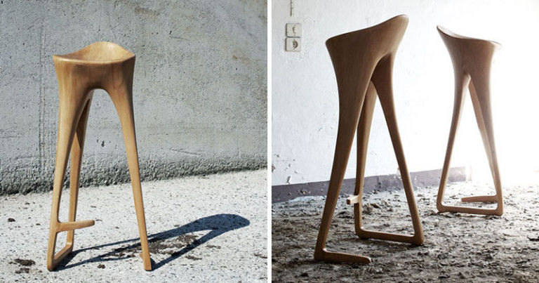 Curved Singer Stools