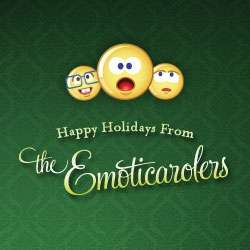 Singing Holiday Emoticons