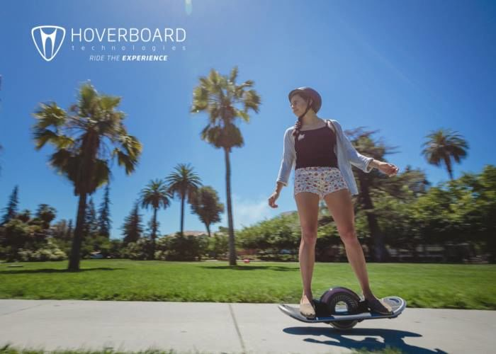 Futuristic Electronic Skateboards
