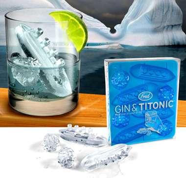 Sinking Titanic Ice Cubes