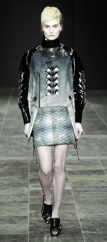 Gothic Metallic Couture