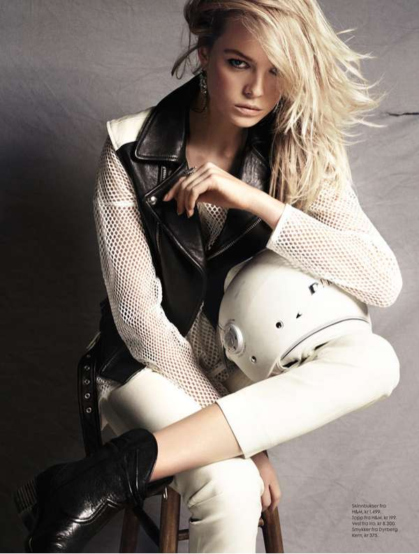 Biker Bombshell Editorials