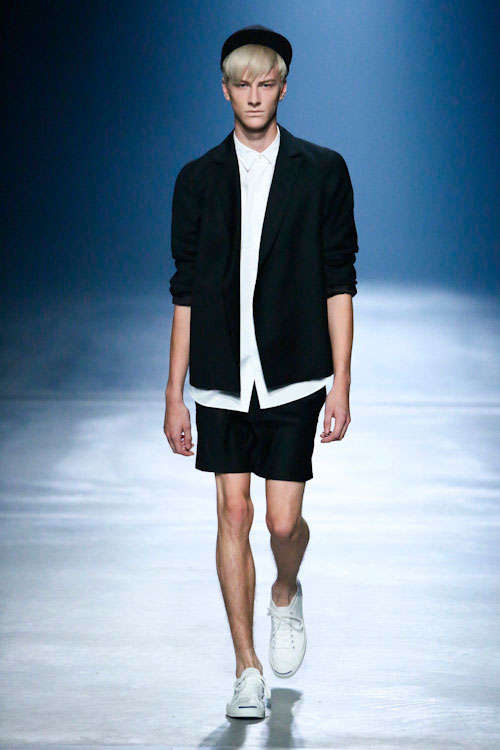 Simplistic School-Boy Runways