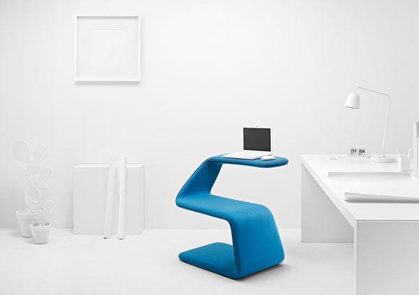 Curvy Shapeshifting Chairs
