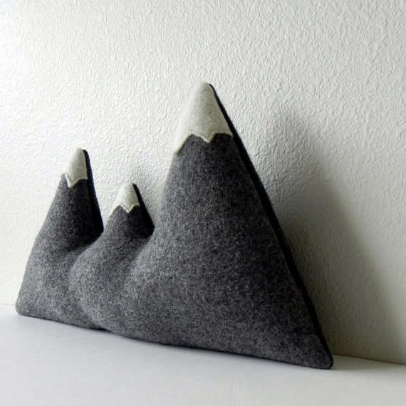 Pointed Alpine Cushions