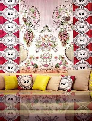 Funky Printed Interiors
