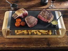 Steak-Broiling Slabs