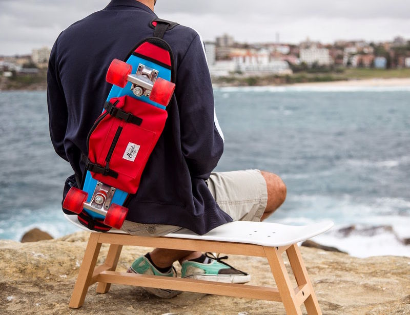 Slick Skateboard Backpacks