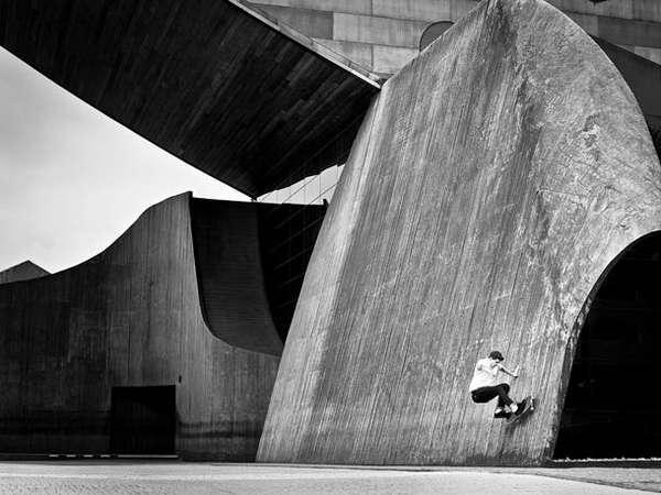 Architectural Skateboard Photos