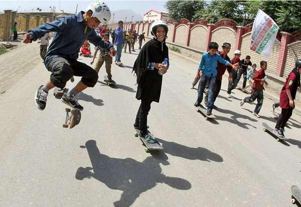 Inspiring Altruistic Skateboarding Schools