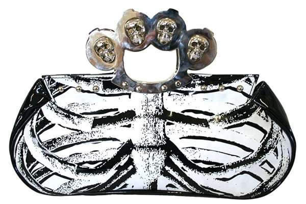 Chic Skeletal Clutches