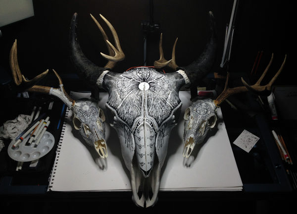 Decorative Skeleton Art