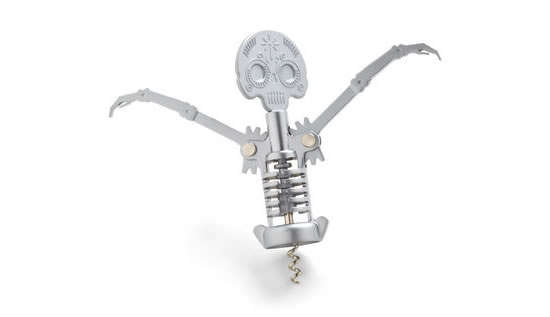 Spookily Skeletal Wine Openers
