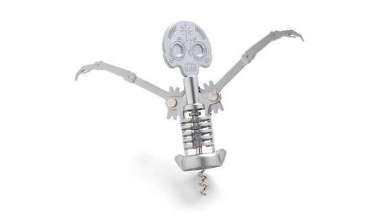 Spookily Skeletal Wine Openers