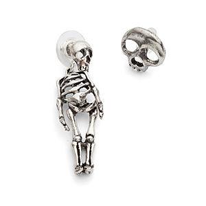 Macabre Skeletal Earrings