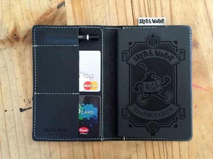 Hybrid Sketchbook Wallets