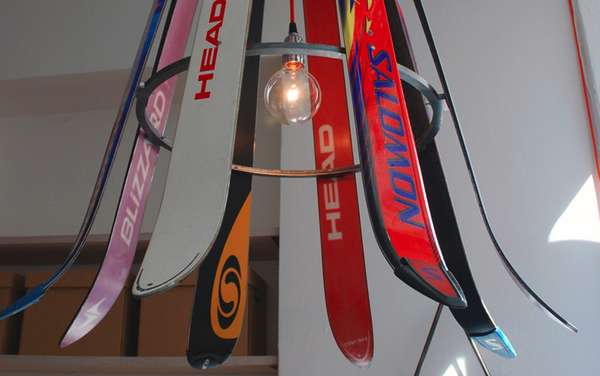 Eccentric Ski Equipment Lighting