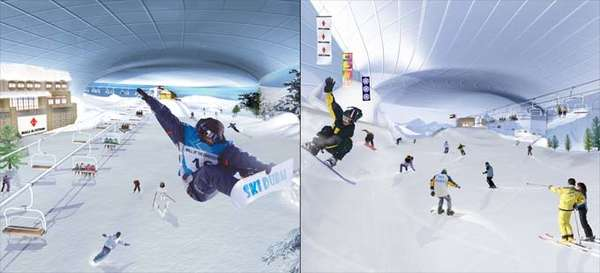 Ski Dubai: Indoor Ski Dome in the Desert