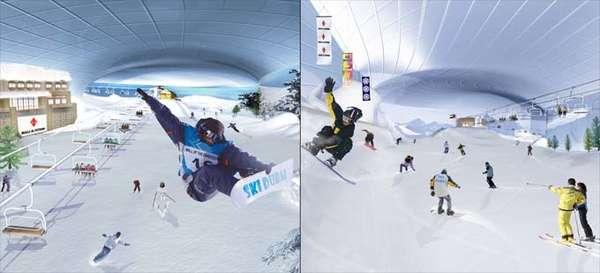 Ski Dubai: Indoor Ski Dome in the Desert