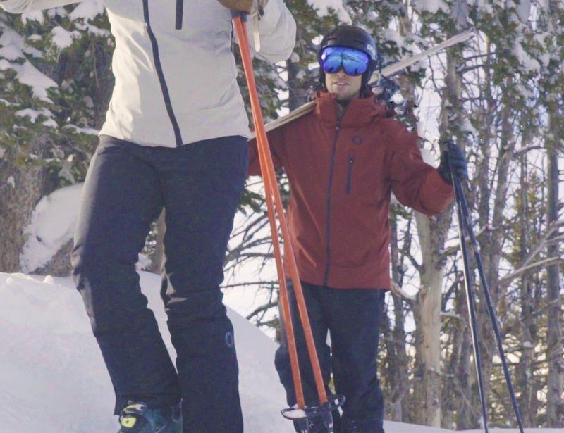 Temperature-Regulating Ski Pants