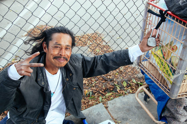 Homeless Possession Photography