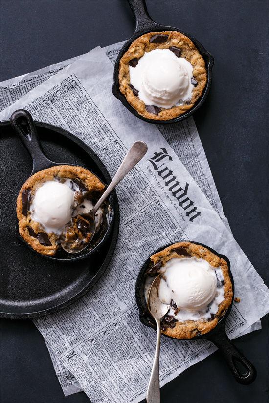 Oatmeal Skillet Cookies