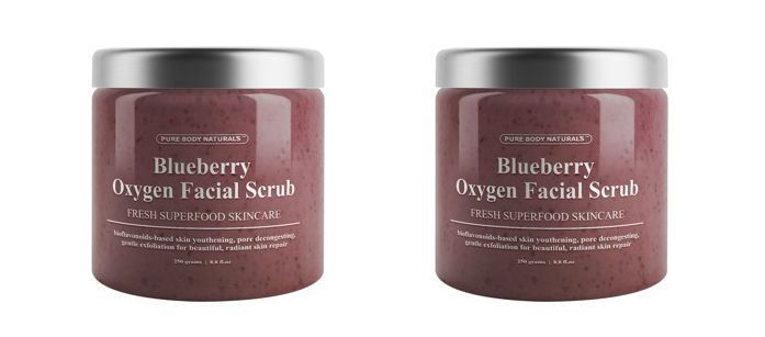 Oxygenated Berry Skin Scrubs