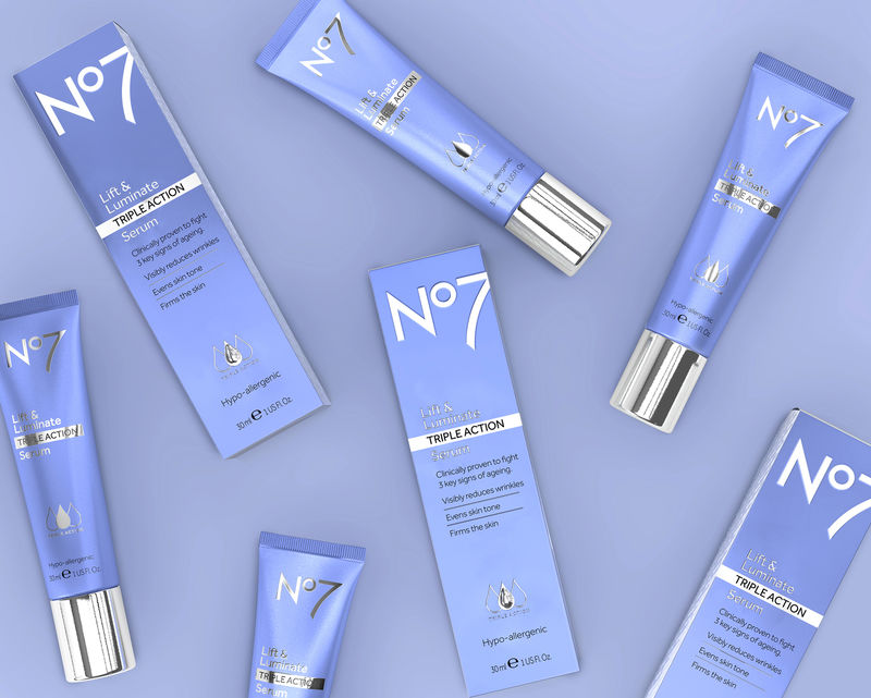 Effect-Inspired Skincare Packaging