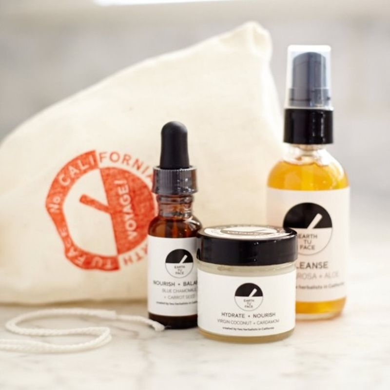 Earthy Skincare Travel Sets