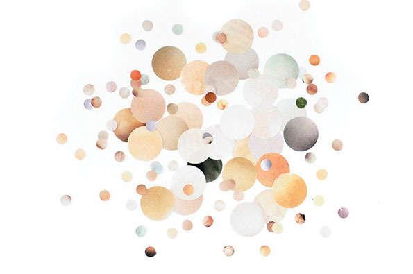 Circular Skintone Collages