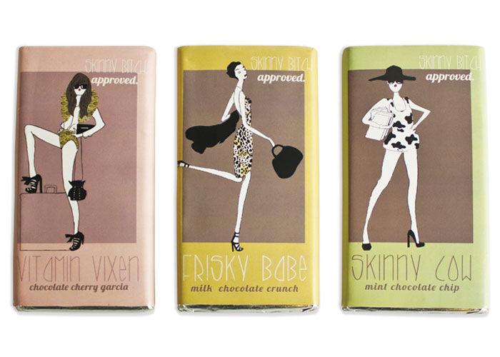 Fashionable Candy Bars