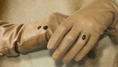 Skin Atrocity-Inspired Gloves