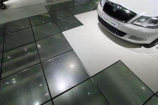 Kinetic Floor Tiles