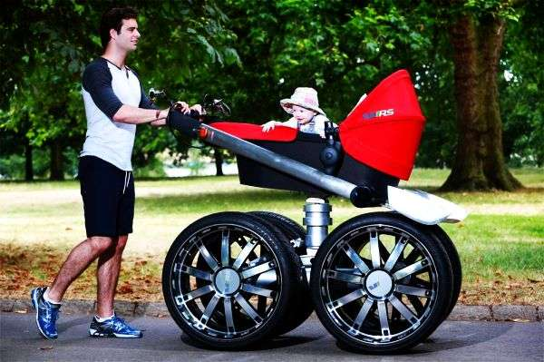 Macho Car-Inspired Strollers