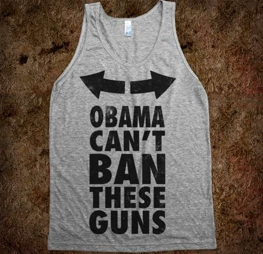 'Skreened' Obama Can't Ban These Guns Shirt