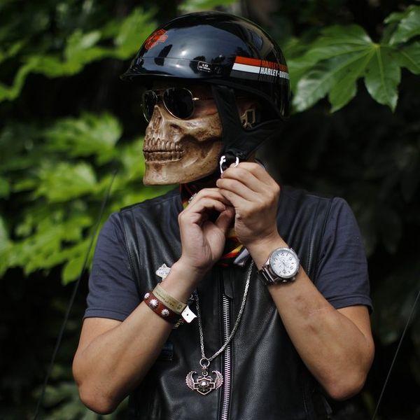 Skeletal Face Coverings