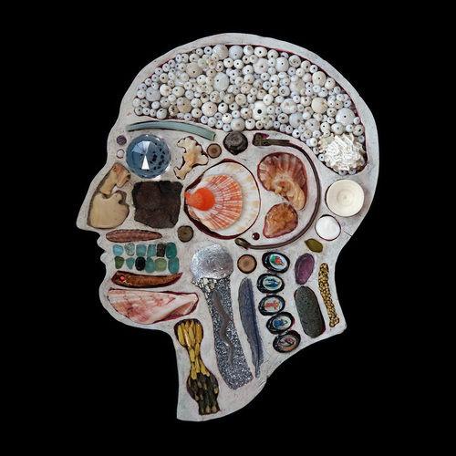 Trinket-Infused Skull Photography