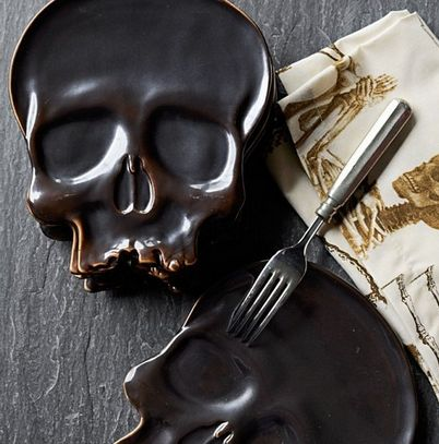 Macabre Halloween Dishes
