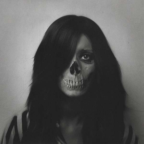Eerie Skull-Infused Portraits