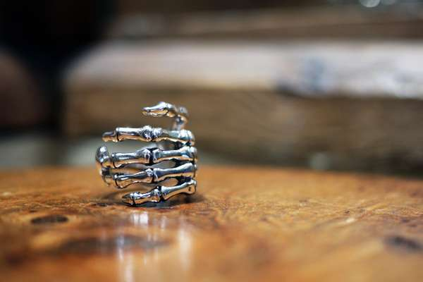 Creepy Carcass Accessories Skull Ring Collection From