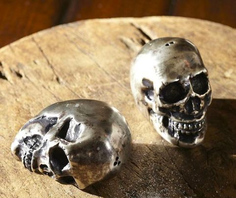 Skull Salt and Pepper