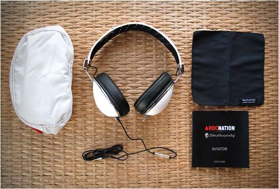 Skullcandy & RocNation Aviator Headphones