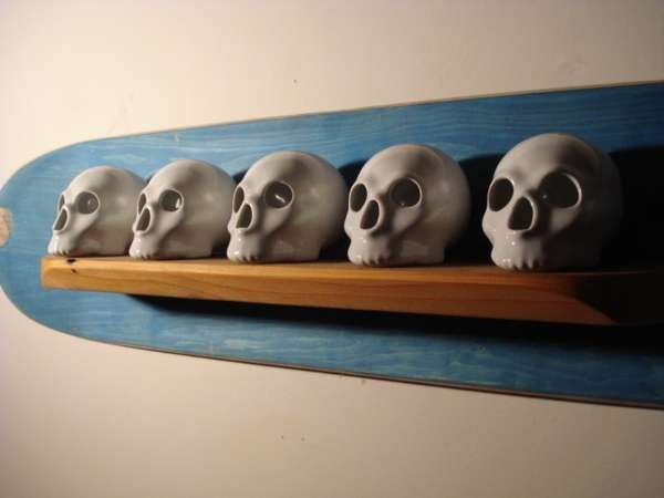 Scary Skateboard Shelves