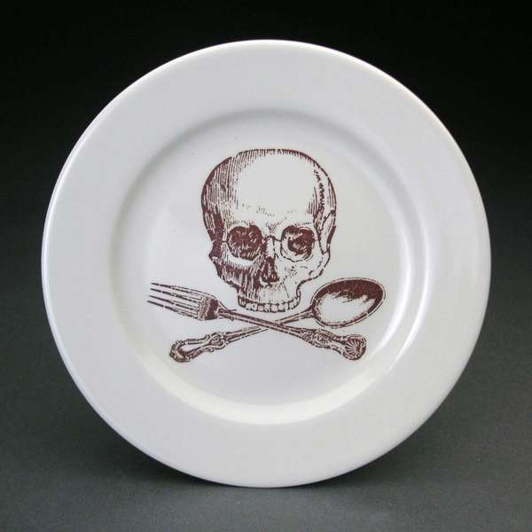 Deathly Dinnerware